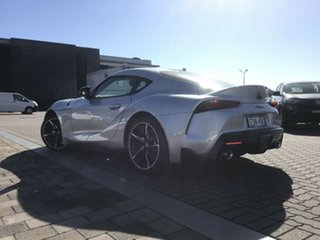 2019 Toyota Supra J29 GR GTS Silver 8 Speed Sports Automatic Coupe.