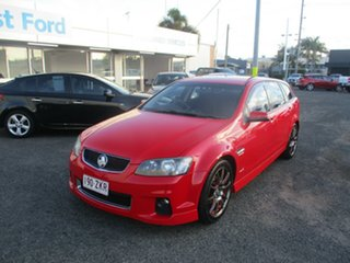 2012 Holden Commodore VE II MY12 SV6 Red 6 Speed Automatic Sportswagon.