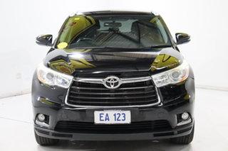 2014 Toyota Kluger GSU55R GXL AWD Black 6 Speed Sports Automatic Wagon.