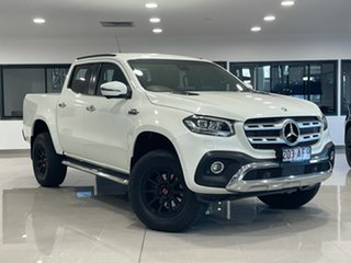 2018 Mercedes-Benz X-Class 470 X350d 7G-Tronic + 4MATIC Power White 7 Speed Sports Automatic Utility.