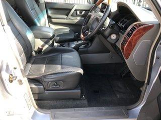 2004 Mitsubishi Pajero NP Exceed LWB (4x4) Silver 5 Speed Auto Sports Mode Wagon