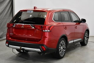 2017 Mitsubishi Outlander ZK MY17 LS 2WD Burgundy 6 Speed Constant Variable Wagon