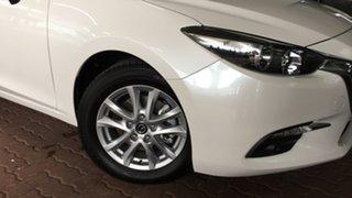 2018 Mazda 3 BN5478 Maxx SKYACTIV-Drive Sport White 6 Speed Sports Automatic Hatchback.