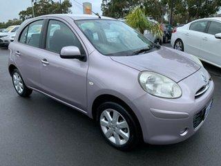 2012 Nissan Micra K13 TI Purple 4 Speed Automatic Hatchback