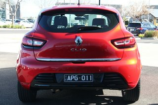 2017 Renault Clio IV B98 Phase 2 Zen EDC Red 6 Speed Sports Automatic Dual Clutch Hatchback