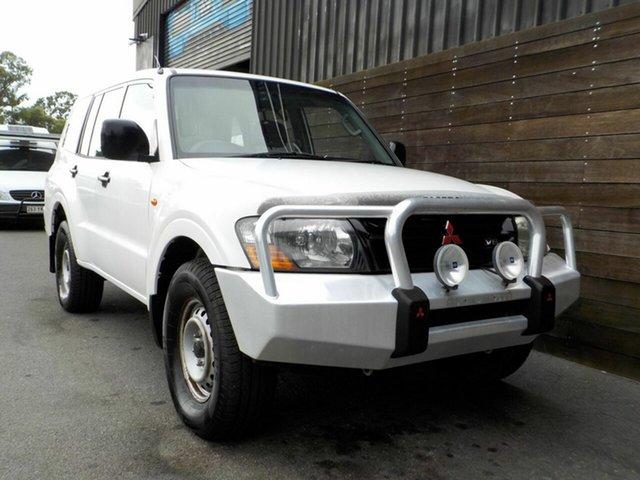 Used Mitsubishi Pajero NM MY2002 GLX Labrador, 2002 Mitsubishi Pajero NM MY2002 GLX White 5 Speed Manual Wagon