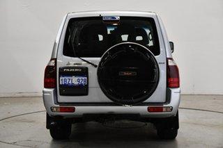 2004 Mitsubishi Pajero NP MY05 GLX Silver 5 Speed Sports Automatic Wagon