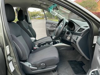 2015 Mitsubishi Triton MQ GLS Green 6 Speed Manual Dual Cab