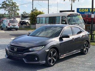 2018 Honda Civic 10th Gen RS Grey 1 Speed Constant Variable Hatchback.