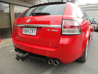 2011 Holden Commodore VE II SS V Sportwagon Red 6 Speed Sports Automatic Wagon
