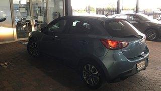 2015 Mazda 2 DJ2HAA Genki SKYACTIV-Drive Blue 6 Speed Sports Automatic Hatchback.