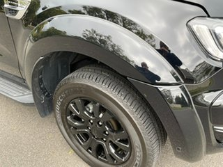 2018 Ford Ranger PX MkIII 2019.00MY XLT Black 10 Speed Sports Automatic Utility