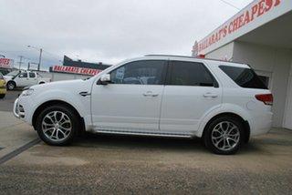 2013 Ford Territory SZ Titanium (RWD) White 6 Speed Automatic Wagon.