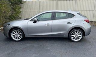 2014 Mazda 3 BM5438 SP25 SKYACTIV-Drive Silver 6 Speed Sports Automatic Hatchback