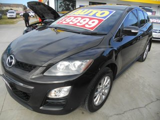 2010 Mazda CX-7 ER10L2 Classic Activematic Black 5 Speed Sports Automatic Wagon.