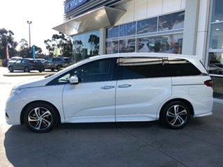 2017 Honda Odyssey RC MY17 VTi-L White 7 Speed Constant Variable Wagon