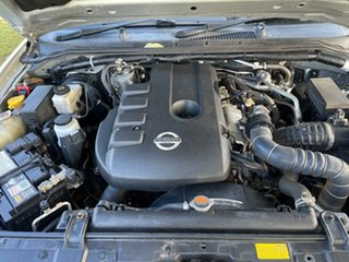 2012 Nissan Navara D40 S6 MY12 ST Silver 5 Speed Sports Automatic Utility