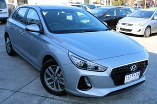 2020 Hyundai i30 PD2 MY20 Active Silver 6 Speed Sports Automatic Hatchback.