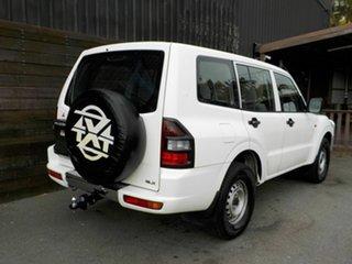 2002 Mitsubishi Pajero NM MY2002 GLX White 5 Speed Manual Wagon