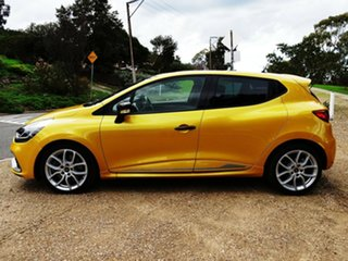 2015 Renault Clio IV B98 R.S. 200 EDC Sport Yellow 6 Speed Sports Automatic Dual Clutch Hatchback