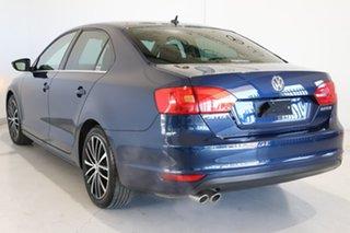 2012 Volkswagen Jetta 1B MY13 147TSI DSG Highline Blue 6 Speed Sports Automatic Dual Clutch Sedan.
