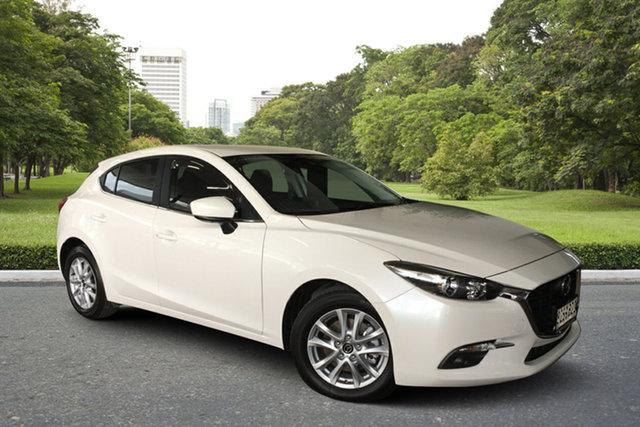 Used Mazda 3 BN5478 Maxx SKYACTIV-Drive Sport Paradise, 2018 Mazda 3 BN5478 Maxx SKYACTIV-Drive Sport White 6 Speed Sports Automatic Hatchback