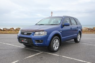 2010 Ford Territory SY MkII TX Blue 4 Speed Sports Automatic Wagon.