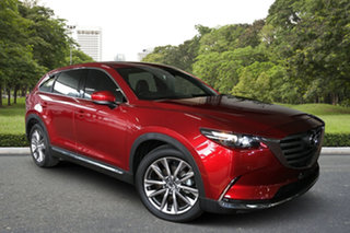 2017 Mazda CX-9 TC GT SKYACTIV-Drive i-ACTIV AWD Red 6 Speed Sports Automatic Wagon.