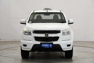 2014 Holden Colorado RG MY14 LX Crew Cab 4x2 White 6 Speed Sports Automatic Cab Chassis.