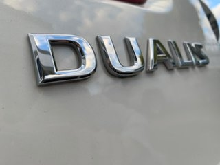 2013 Nissan Dualis J10W Series 3 MY12 ST Hatch X-tronic 2WD White 6 Speed Constant Variable