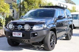 2020 Volkswagen Amarok 2H MY20 TDI580 4MOTION Perm Highline Black Grey 8 speed Automatic Utility.