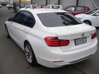 2014 BMW 3 Series F30 MY0814 328i High-Line Sport Line White 8 Speed Sports Automatic Sedan.