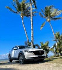 2021 Mazda CX-30 B G25 Astina White 6 Speed Automatic Wagon.