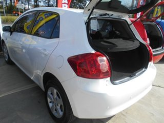 2009 Toyota Corolla ZRE152R Ascent White 6 Speed Manual Hatchback