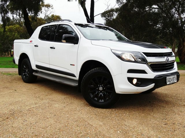 Used Holden Colorado RG MY17 Z71 Pickup Crew Cab Morphett Vale, 2017 Holden Colorado RG MY17 Z71 Pickup Crew Cab White 6 Speed Sports Automatic Utility