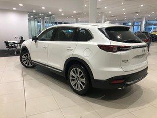 2021 Mazda CX-9 TC Azami SKYACTIV-Drive i-ACTIV AWD Snowflake White 6 Speed Sports Automatic Wagon.