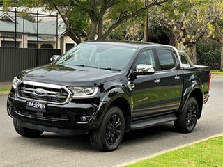 2018 Ford Ranger PX MkIII 2019.00MY XLT Black 10 Speed Sports Automatic Utility.