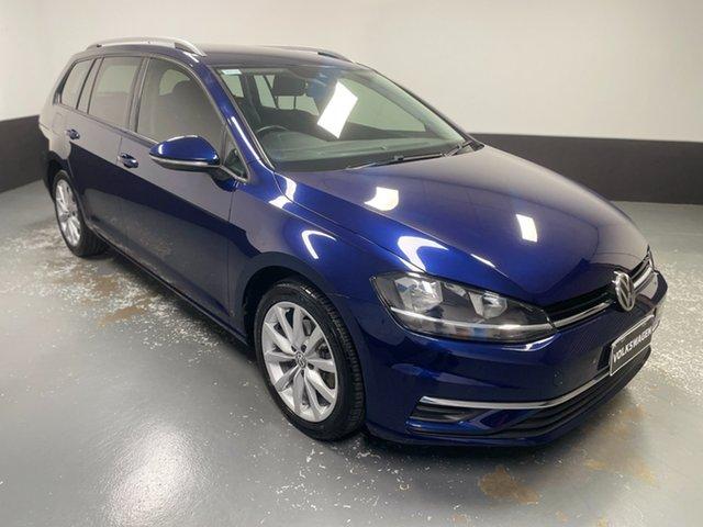 Used Volkswagen Golf 7.5 MY17 110TSI DSG Comfortline Hamilton, 2017 Volkswagen Golf 7.5 MY17 110TSI DSG Comfortline Atlantic Blue 7 Speed