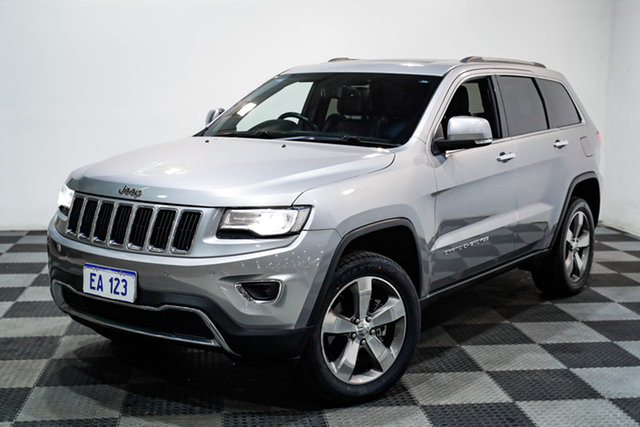 Used Jeep Grand Cherokee WK MY2013 Limited Edgewater, 2013 Jeep Grand Cherokee WK MY2013 Limited Silver 5 Speed Sports Automatic Wagon