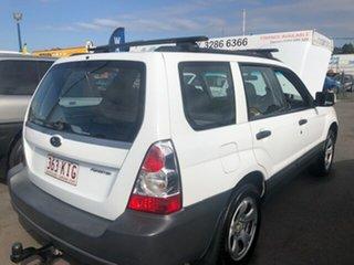 2007 Subaru Forester White Automatic Wagon