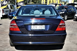 2003 Mercedes-Benz E-Class W211 E500 Avantgarde Blue 5 Speed Sports Automatic Sedan