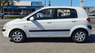2006 Hyundai Getz TB White 5 Speed Manual Hatchback.