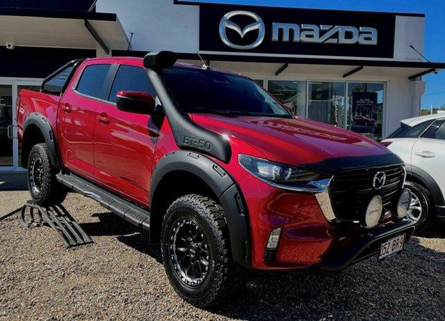 Demo Mazda BT-50 XT Bowen, 2021 Mazda BT-50 XT Red 6 Speed Automatic Dual Cab
