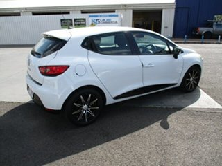 2015 Renault Clio White 4 Speed Automatic Hatchback