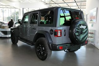 2021 Jeep Wrangler JL MY21 Unlimited Willys Grey 8 Speed Automatic Hardtop