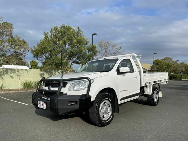 Used Holden Colorado RG LS Chermside, 2015 Holden Colorado RG LS White 6 Speed Manual Single Cab
