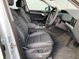 2021 Volkswagen Touareg CR MY21 170TDI Tiptronic 4MOTION Pure White 8 Speed Sports Automatic Wagon