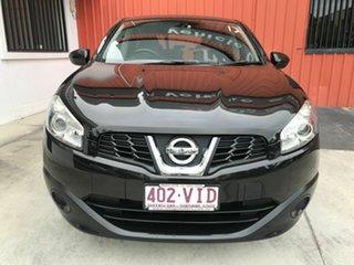 2013 Nissan Dualis J10W Series 4 MY13 ST Hatch 2WD Black 6 Speed Manual Hatchback.