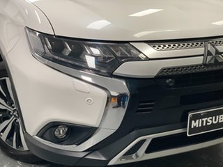 2018 Mitsubishi Outlander ZL MY19 Exceed AWD White 6 Speed Sports Automatic Wagon.