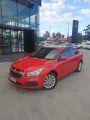 2016 Holden Cruze JH Series II MY16 Equipe Red 6 Speed Sports Automatic Sedan.
